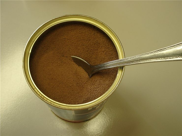 Picture Of Can Of Instant Coffee