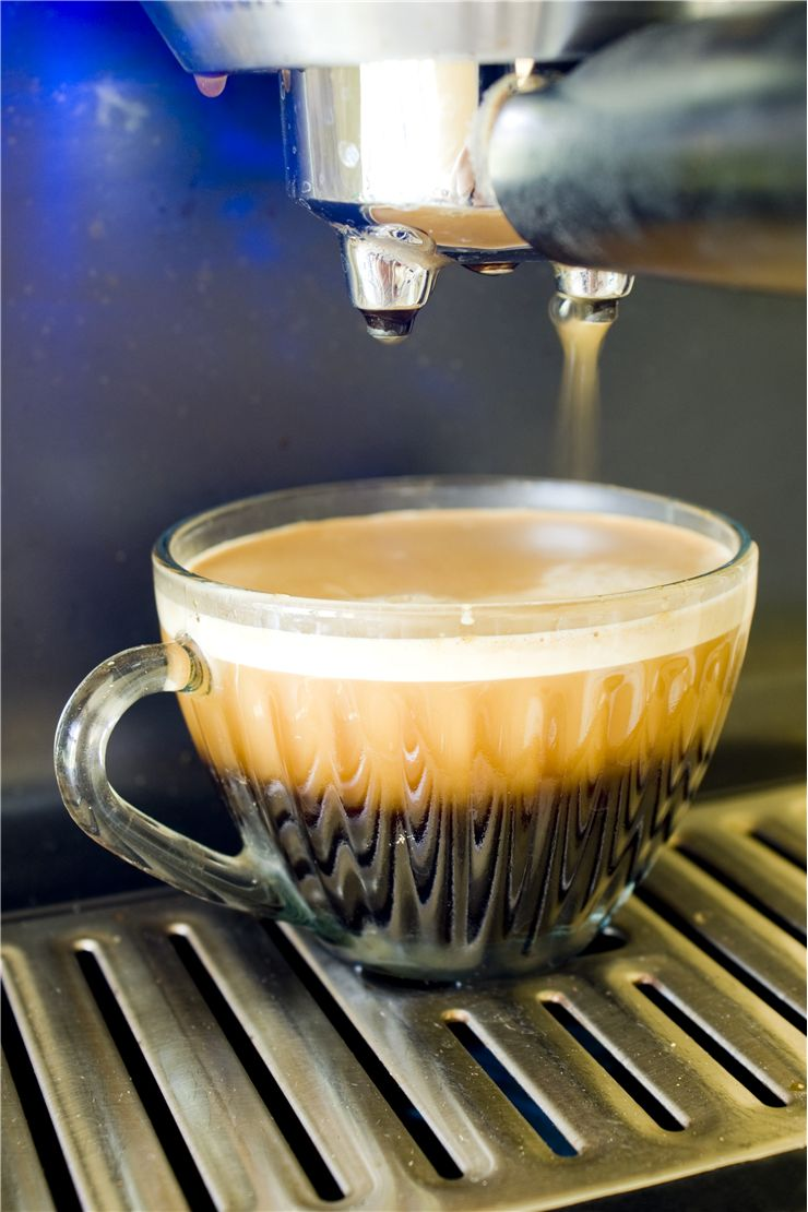 Picture Of Coffee And Coffee Machine