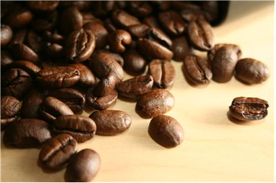 Picture Of Coffee Beans On A Table