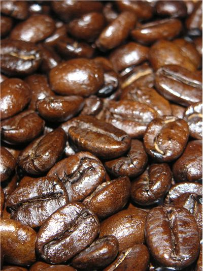 Picture Of Coffee Beans Roasted