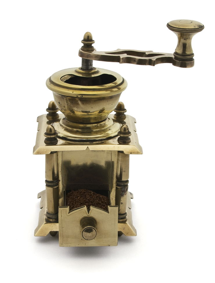 Picture Of Coffee Grinder Brass