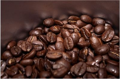 Picture Of Fresh Roasted Coffee Beans