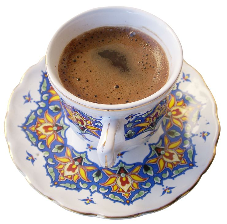 Picture Of Hot Turkish Coffee