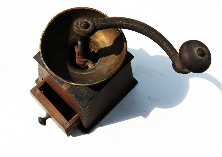Picture Of Old Coffee Mill