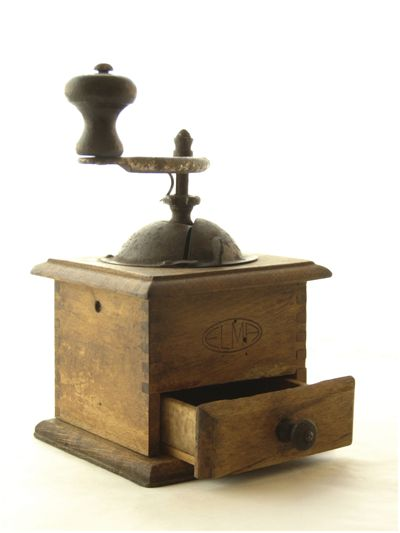 Picture Of Old Traditional Coffee Mill