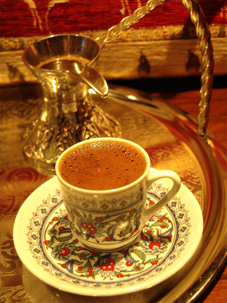 Picture Of Traditional Turkish Coffee
