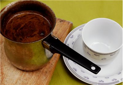 Picture Of Turkish Coffee And A Mug