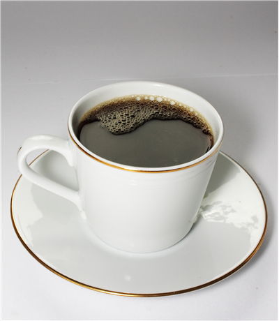 Picture Of White Procelain Cup Of Coffee